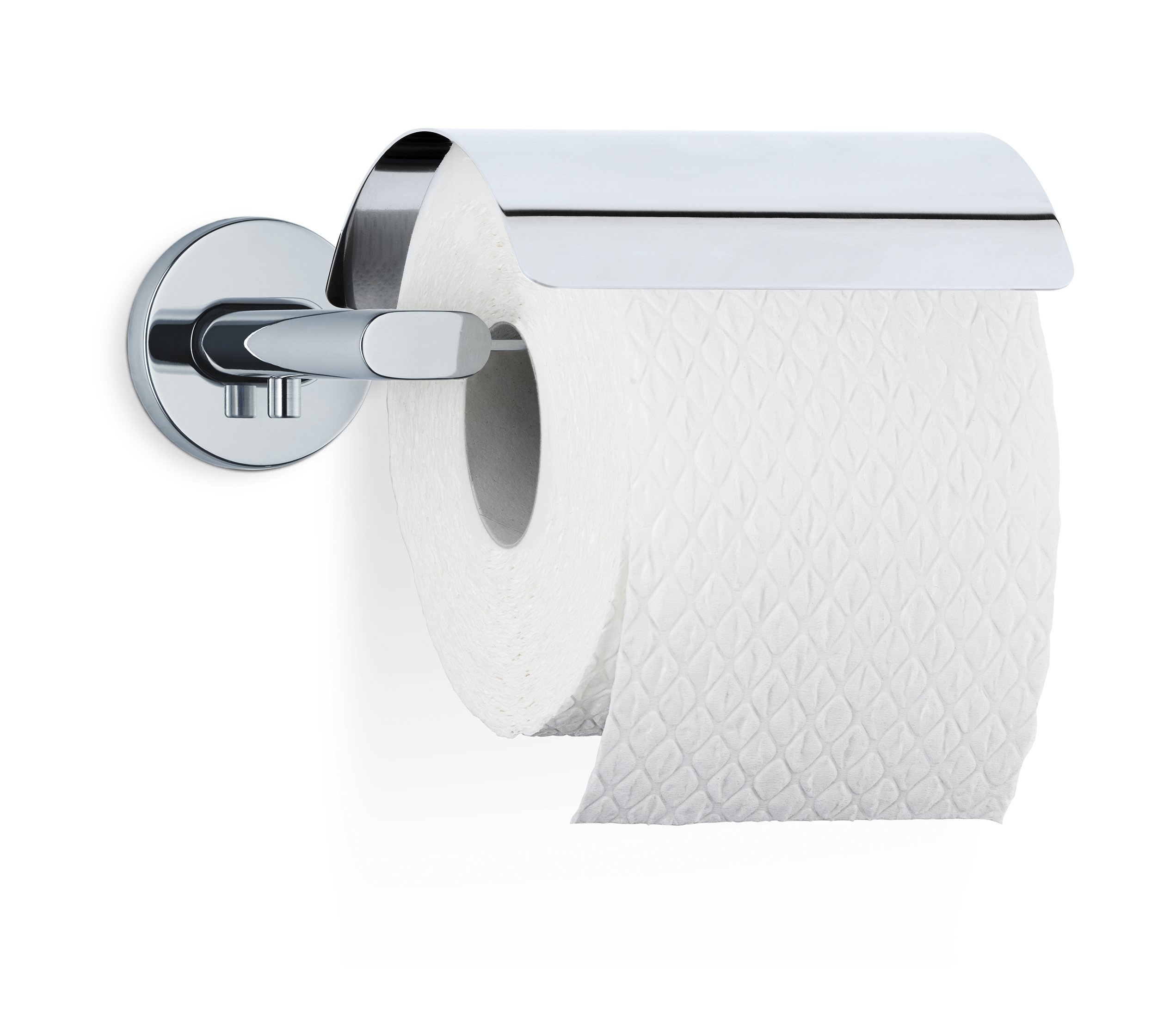 Blomus 68910 Areo Wall Mounted Toilet Paper Holder, Polished