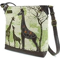 Chala Safari Canvas Mid-Size Crossbody Messenger Bag