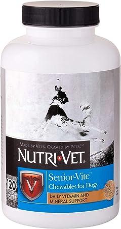 Nutri-Vet Senior-Vite Chewables for Senior Dogs