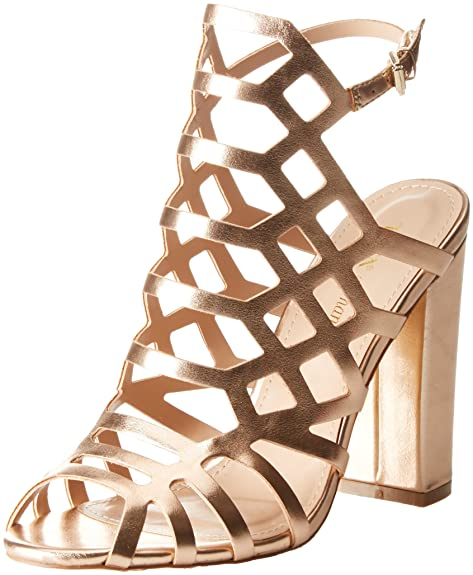 online store 8ed3f 2aba8 Tata Italia Ds608-1, Scarpe col Tacco Punta Aperta Donna