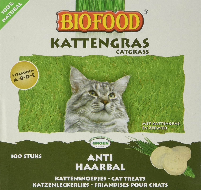 Biofood Friandise Anti Boules Poils pour Chat 100 Pièces 4038