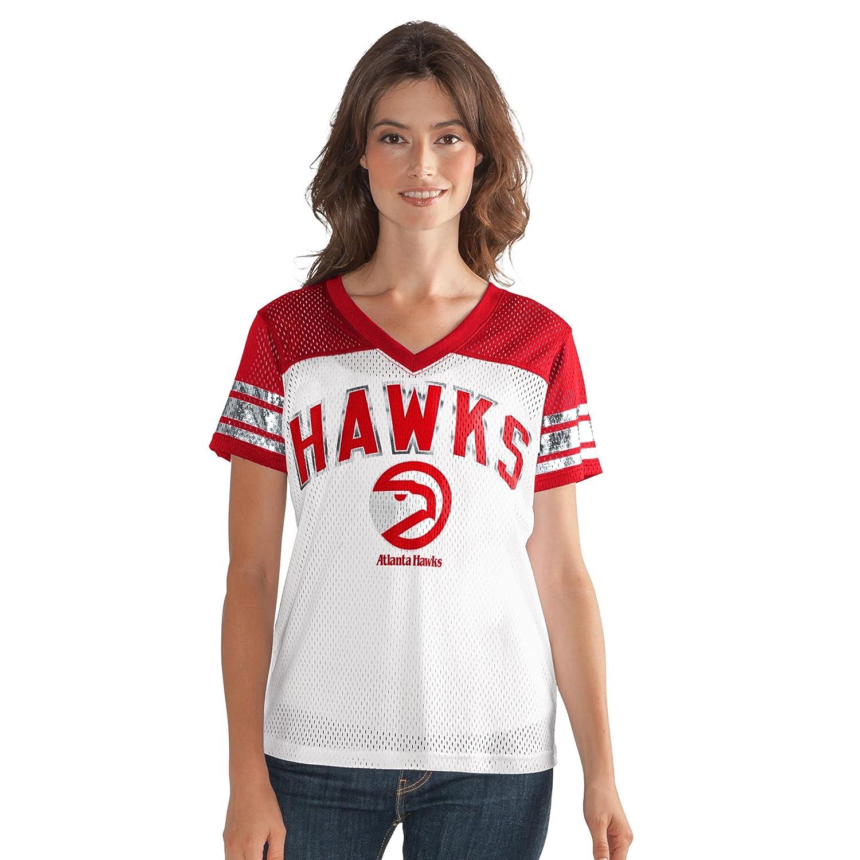 b856d1f85337 Amazon.com   GIII For Her NBA Women s All American Mesh Tee   Sports    Outdoors