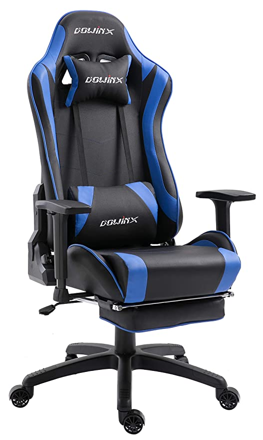 Gamer Massage Chair Ergonomic Style E Dowinx Recliner For Lumbar Armchair Computer Pu Leather Chairs With Sports SupportOffice Gaming Racing qSzMpGUV
