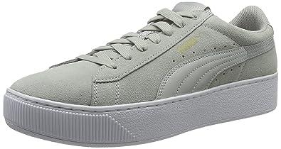 9b5f1faa96 Puma Women Vikky Platform Low-Top Sneakers, Grey (Gray Violet-gray Violet