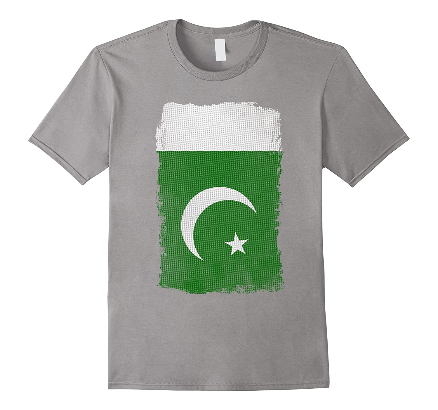 Big Texas Weathered Flag of Pakistan T-Shirt-TH