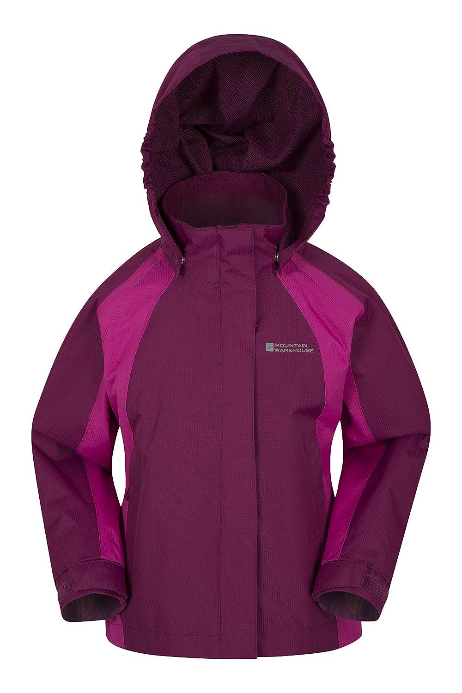 Mountain Warehouse Shelly Kids Waterproof Jacket - Adjustable Cuffs