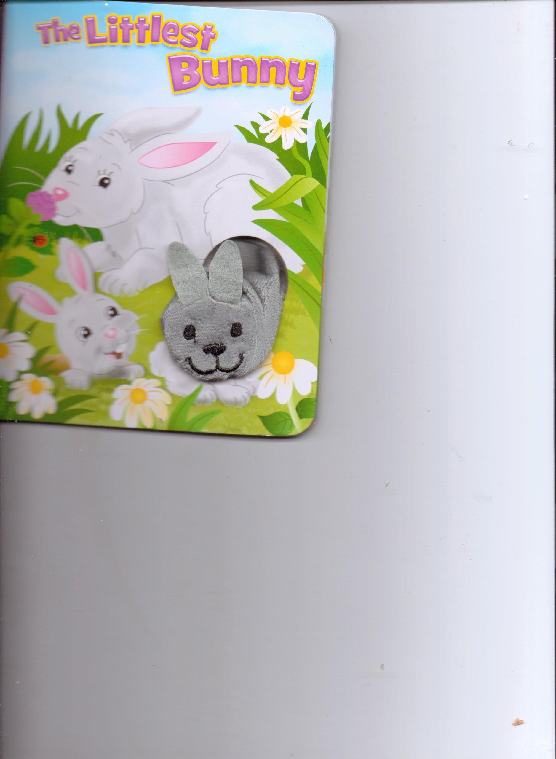 Download The Littlest Bunny Finger Puppet Book pdf
