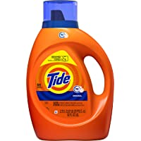 Tide Liquid Laundry Detergent Soap, High Efficiency (HE), Original Scent, 64 Loads