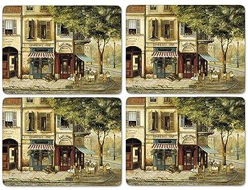 Pimpernel Parisian Scenes Placemats - Set Of 4 (Large): Amazon.ca ...