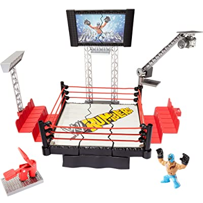 WWE Rumblers Rampage Devastadium Playset: Toys & Games