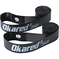 Okared 2PCS Bicycle Rim Strip 26'' /Bicycle Tire Liner/Bicycle Inner Tube Pad Rim Liner/Inner Tube Tyre Guard Cushion Pad Protector