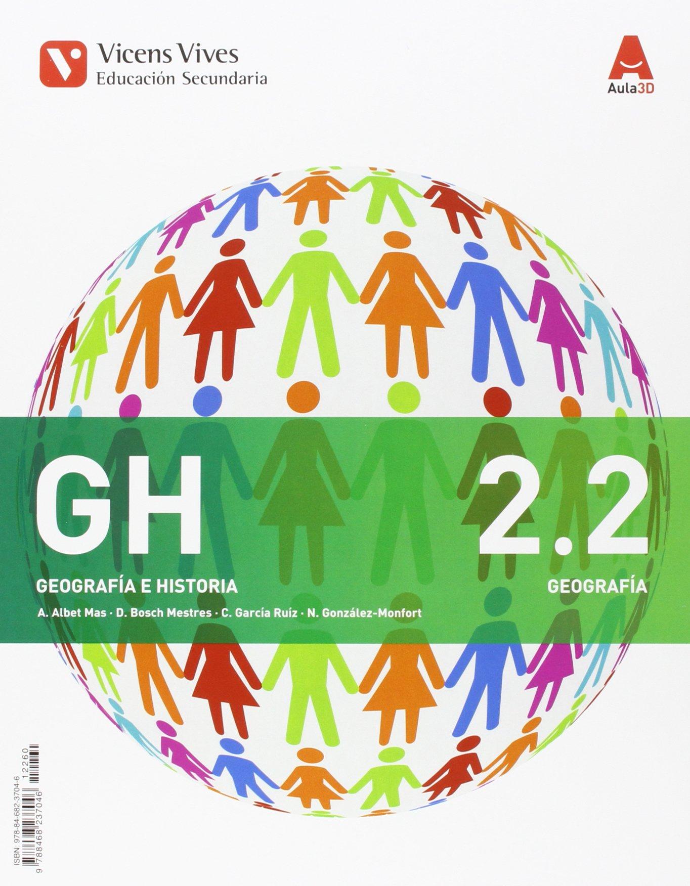 GH 2 MADRID HIST/GEO + SEP GEO AULA 3D: GH 2 COMUNIDAD DE MADRID HIST/GEO + SEP GEO AULA 3D: Amazon.es: Albet Mas, Abel, Bosch Mestres, Dolors, Garcia Ruiz, Carles, Gonzalez Monfort,