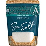 SaltWorks Fleur de Sel French Flower of Salt, Artisan Zip-Top Pouch, 4 Ounce