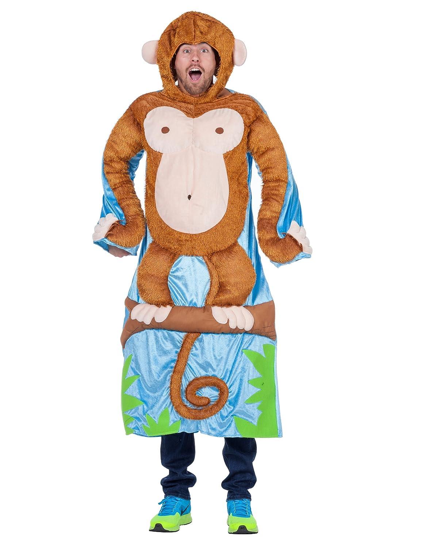 Costume da scimmia sullalbero per adulto Taglia Unica