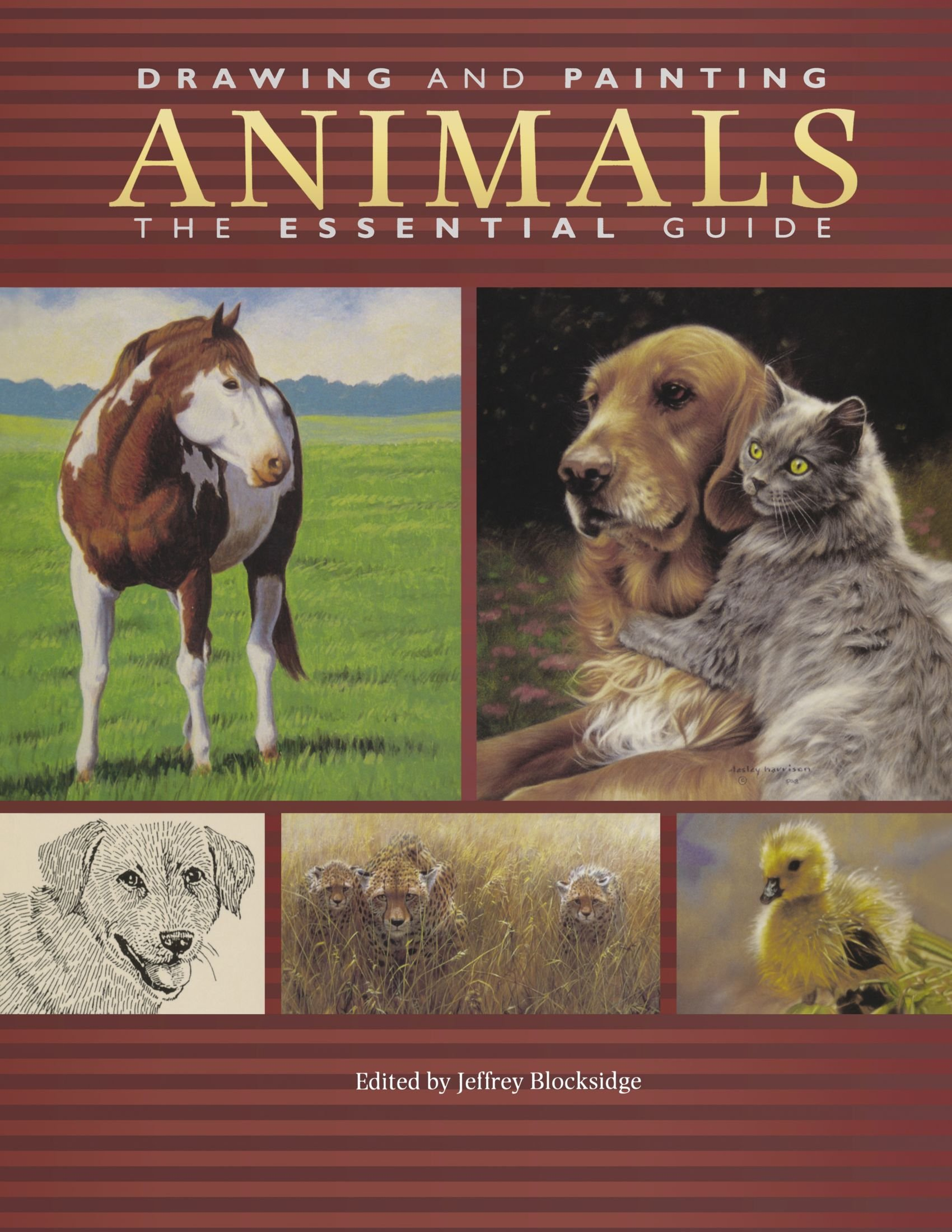 Drawing And Painting Animals: The Essential Guide