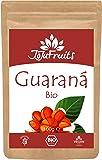 Guarana Pulver Bio (100g) - JoJu Fruits - (Vegan, Glutenfrei, Rohkost) - Superfood aus Bio Guarana