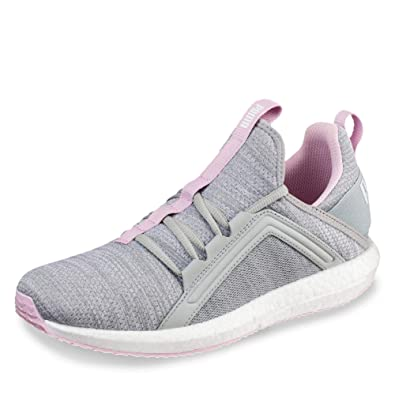 d83a8a89cafd83 Puma Women s Mega NRGY Heather Knit WNS Quarry-Winsome Orchid White Running  Shoes-7 UK India (40.5 EU) (19109604)  Buy Online at Low Prices in India ...