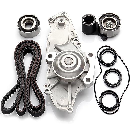 Amazon.com: ECCPP For 03-08 Acura MDX RL TL Honda Odyssey J30A J32A J35A J37A Timing Belt Kit Water Pump: Automotive