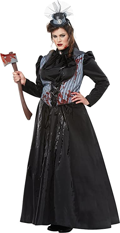 Victorian Costumes: Dresses, Saloon Girls, Southern Belle, Witch California Costumes Womens Size Lizzie Borden/Axe Murderessadult Plus $85.77 AT vintagedancer.com