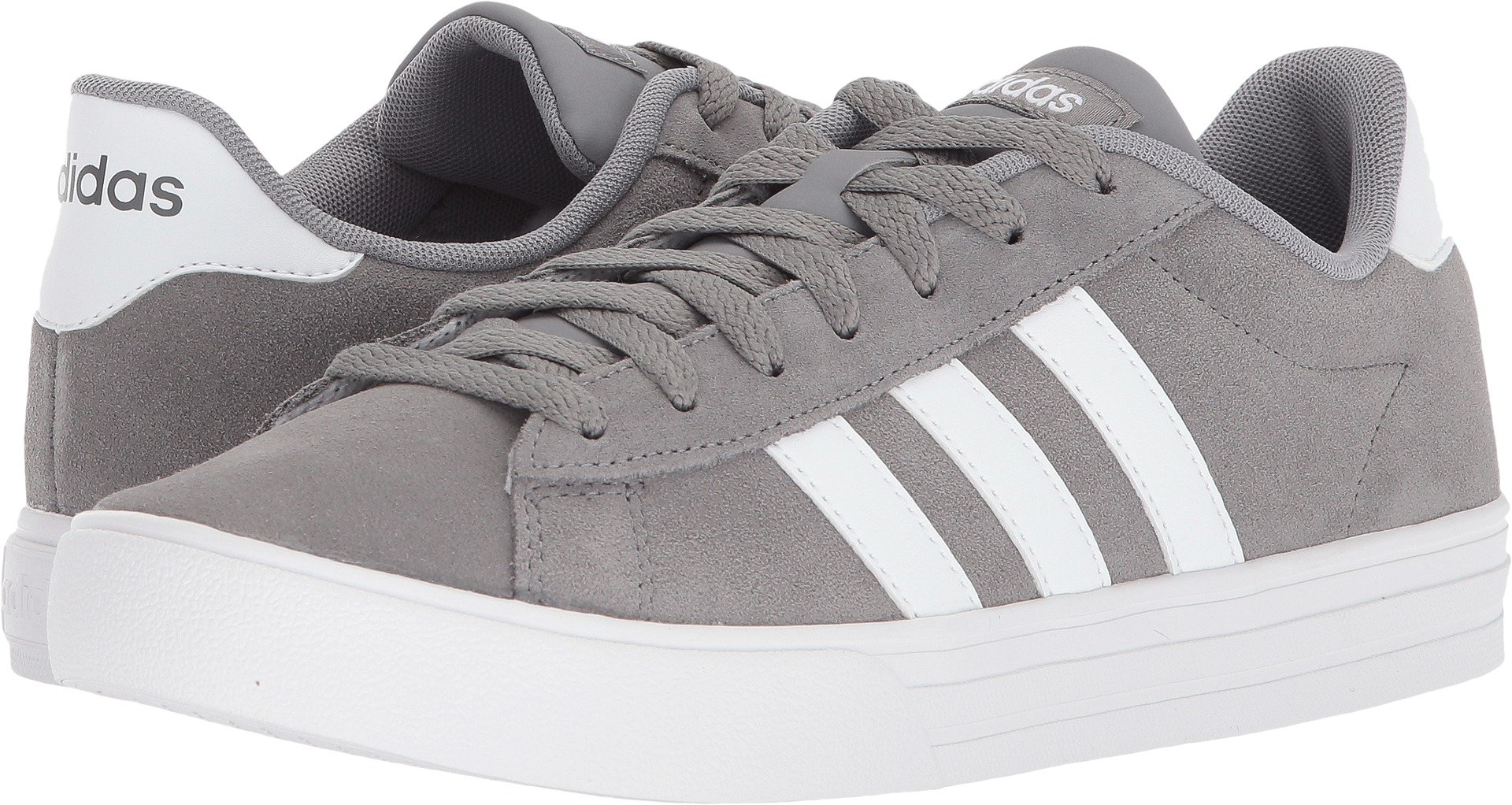 adidas Men's Daily 2.0 Sneaker, Grey Three/White/White, 6.5 M US