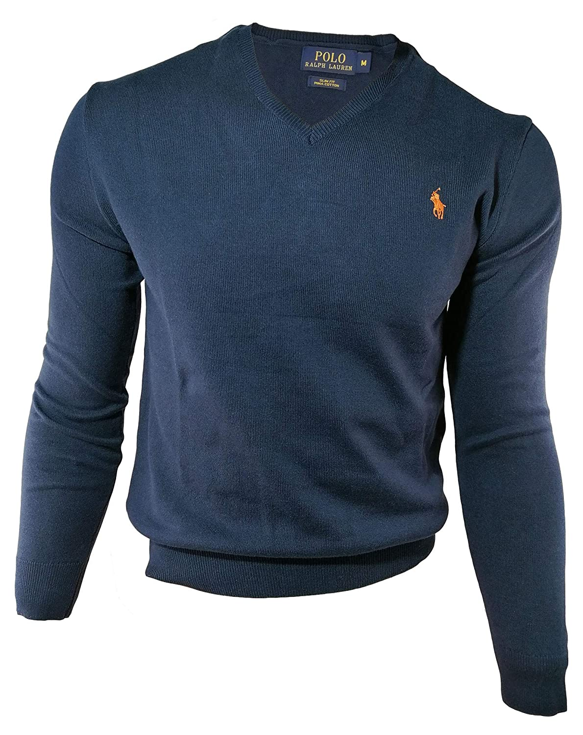 Ralph Lauren Jersey Pima V-Neck Slim Fit: Amazon.es: Ropa y accesorios