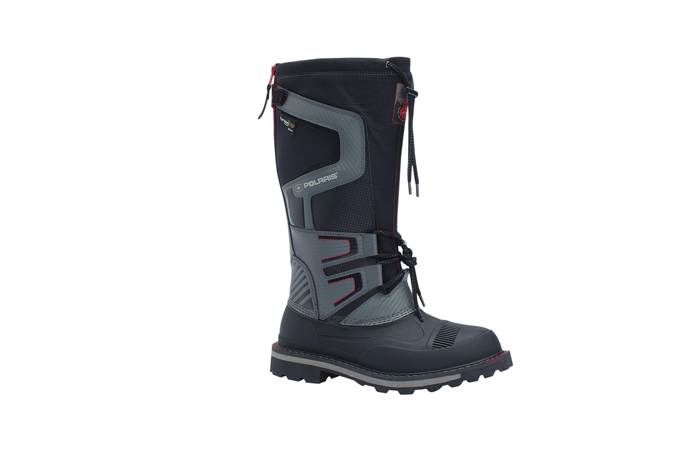 Polaris Men's Drift Master Waterproof Cold Weather Boot, Black, 10.5