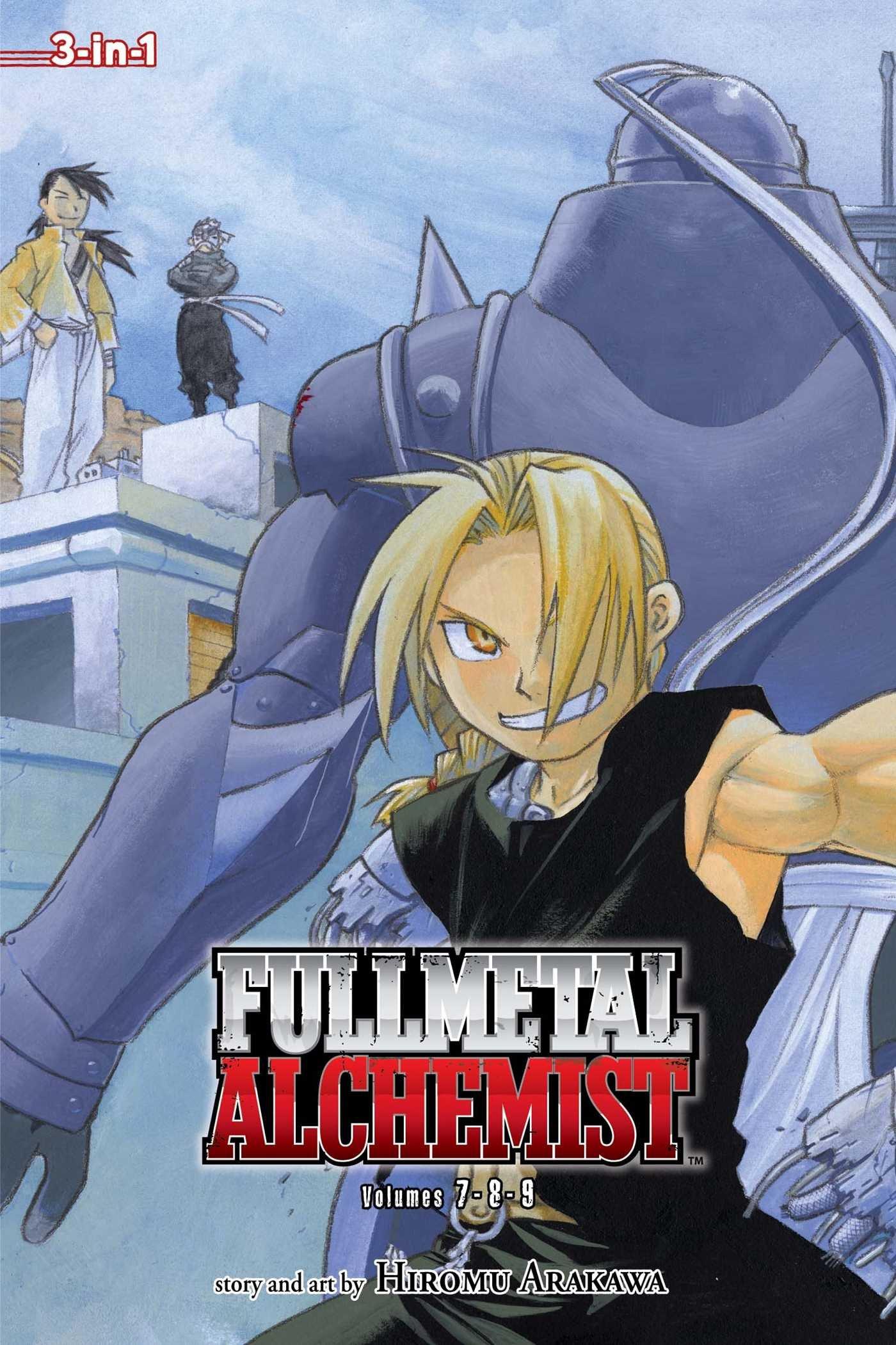 com fullmetal alchemist vol fullmetal alchemist  com fullmetal alchemist vol 7 9 fullmetal alchemist 3 in 1 9781421540207 hiromu arakawa books