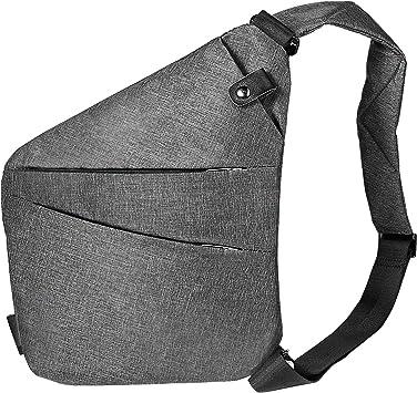 Mini sacoche bandoulière noir | Newfeel | Sac à bandoulière