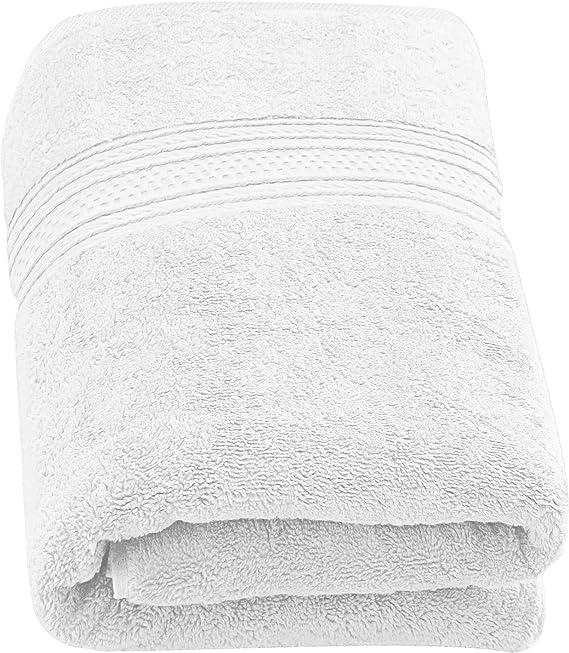 Utopia Towels - 700 gsm Toallas de baño de algodón (90 x 180 cm) Hoja de baño hogar, los baños, la Piscina y el Gimnasio Algodón de Anillos (Blanco): Amazon.es: Hogar
