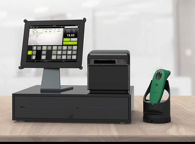 Blue /& Black Dock Universal Barcode Scanner SocketScan S740