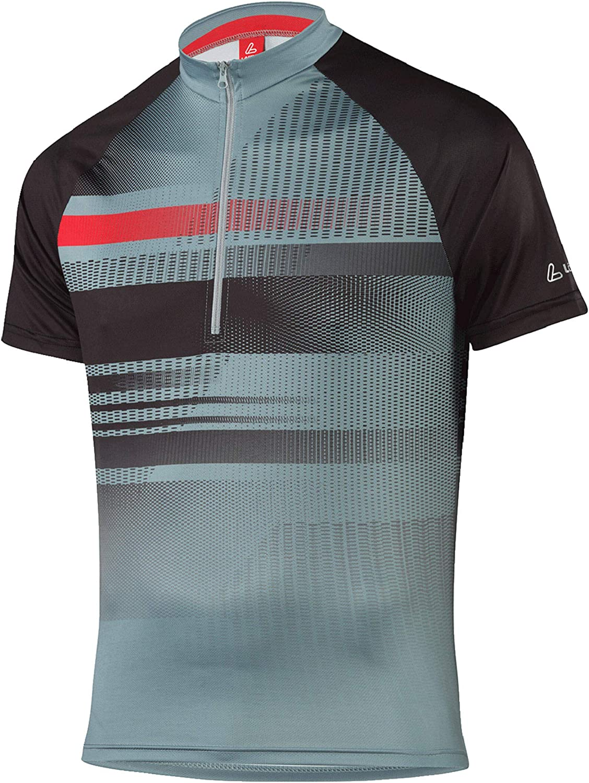 L/ÖFFLER Herren Radtrikot Bike Shirt Track HZ Kurzarm