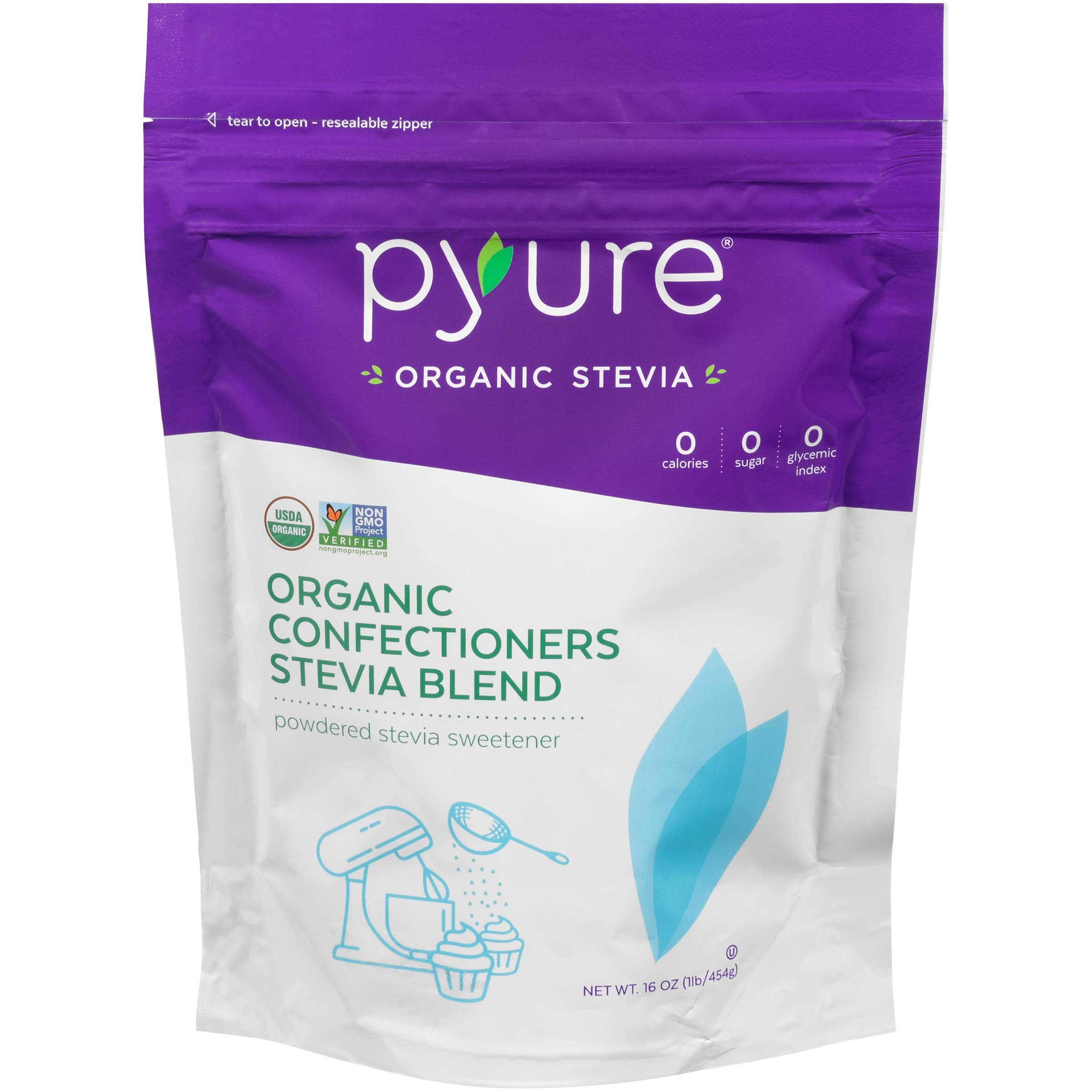 Pyure Organic Confectioners Stevia Blend, Powdered Sugar-free Sweetener, Keto, 16 oz by Pyure (Image #3)
