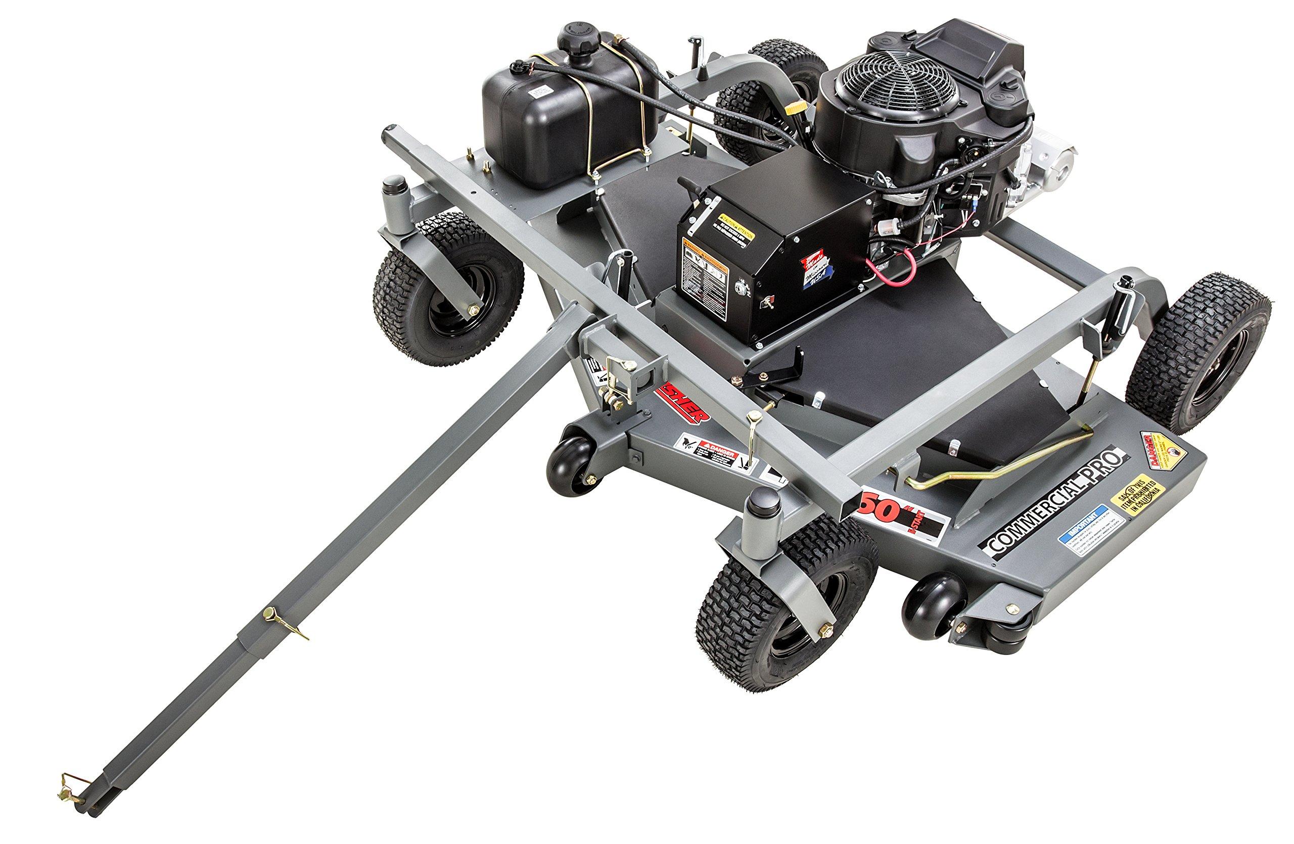 Swisher FC14560CPKA 14.5 HP 12V Kawasaki 60'' Commercial Pro Trail Mower Trailmower, Gray by Swisher
