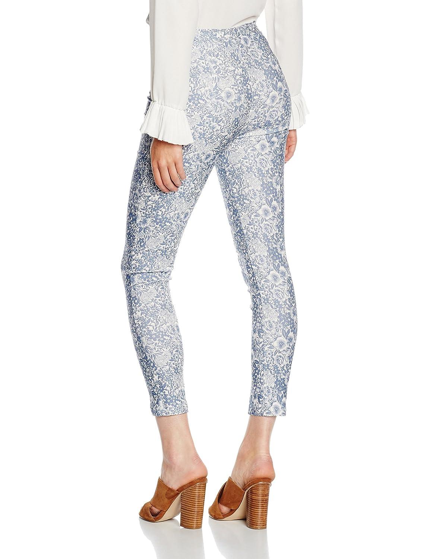 Womens Carreaux Salsa Bengaline Jambe Mince Pantalon Nouveau Look Nl5qsks3c