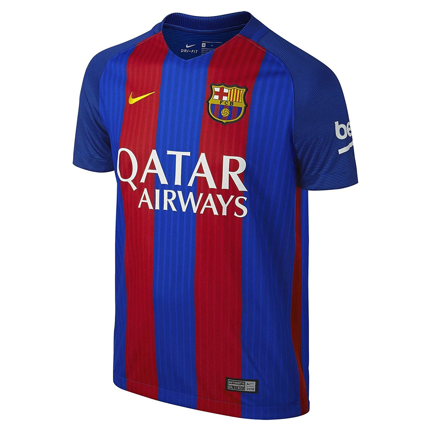 7fd9daba1ac Amazon.com   2016-17 Barcelona Home Shirt (Messi 10)   Clothing