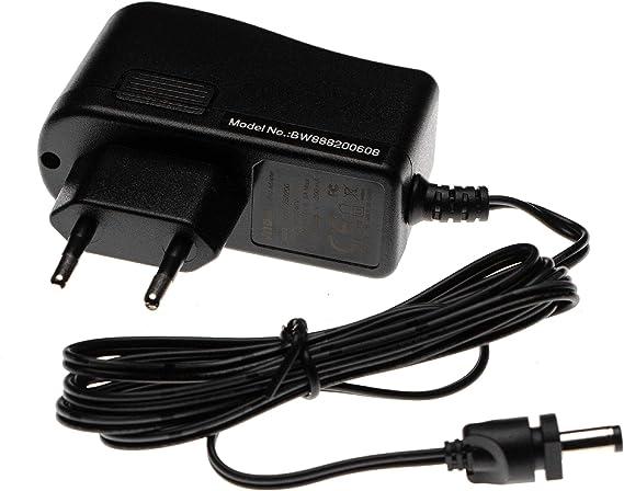 vhbw Cargador, fuente de alimentación compatible con Ufesa Practika AE4412/01, AE4413/01, AE4414/01, AE4416/01, AE4417/03 aspiradora de mano; 139cm: Amazon.es: Hogar
