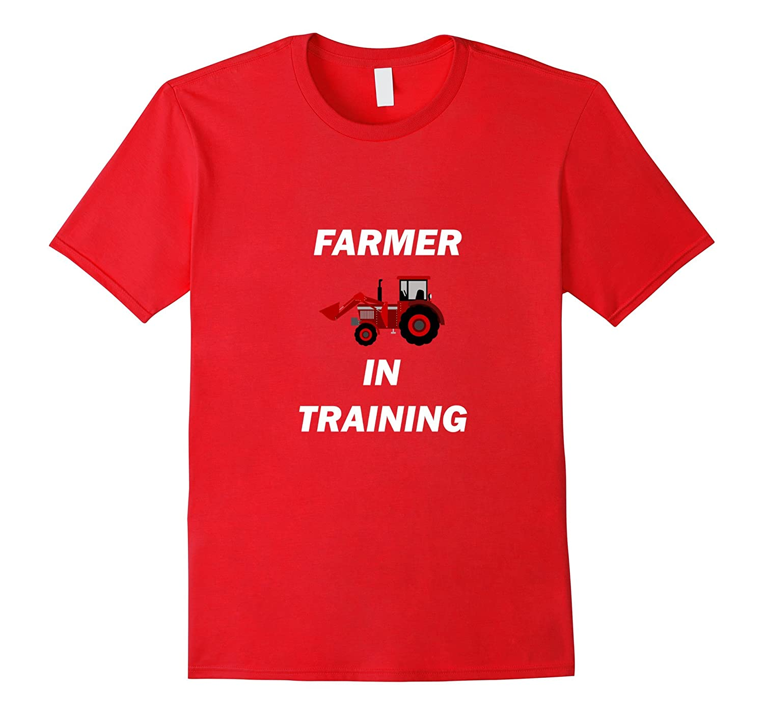 Farmer In Training Tractor Shirt For Boys Or Girls-FL
