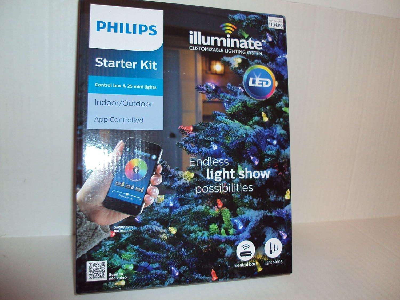 Amazon.com : Philips LED Illuminate 25ct Faceted C9 String Mini ...