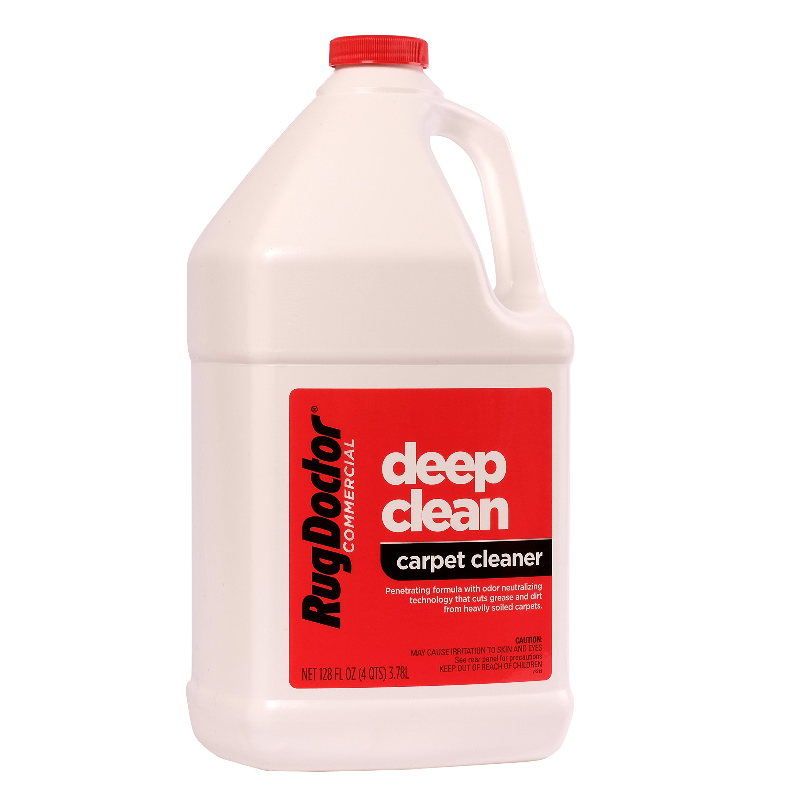 Rug Doctor Industrial Deep Carpet Cleaning Solution, Carpet Detergent for Removing Tough Stains and Stubborn Dirt, Great for Home and Office, 128 oz. by Rug Doctor