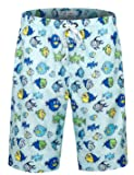 APTRO Men's Swim Trunks with Pockets Beach Hawaiian