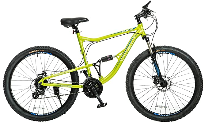 Titan Alpha Alloy-Frame Mountain Bike