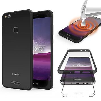 Urcover® Huawei P10 Lite Funda Versión Mejorada Funda ...