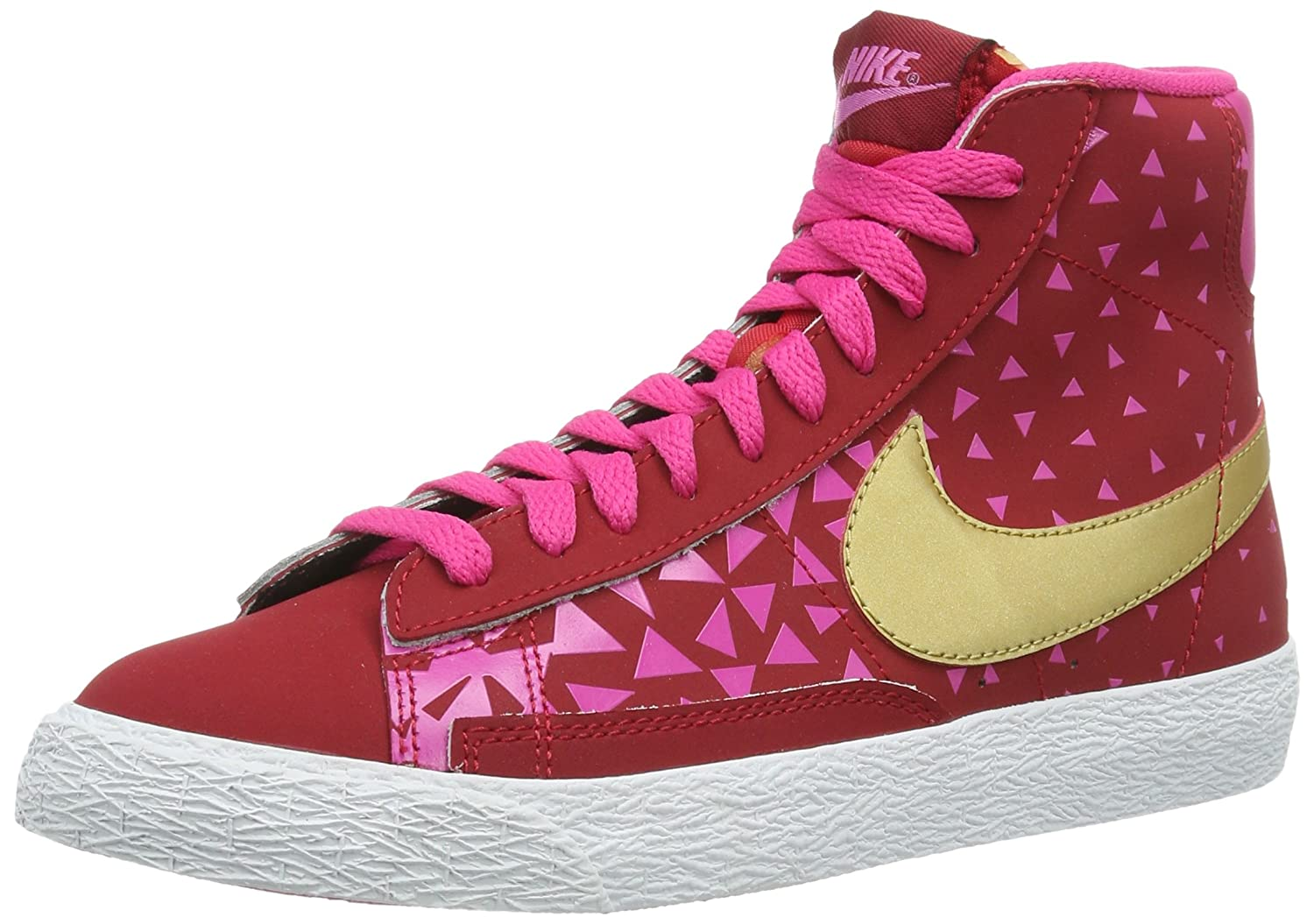 nike shoes high tops for girls. nike girls blazer mid vintage lace-up shoes: amazon.co.uk: shoes \u0026 bags high tops for