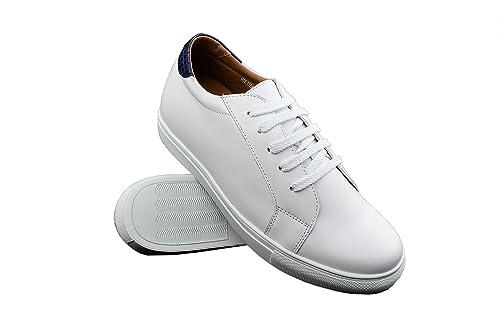 Zerimar Zapatos con Alzas Hombre| Zapatos Deportivos con Alzas Que Aumenta su Altura + 6 cm| Zapatillas Hombre de Vestir| Zapatos Hombre Casuales: ...