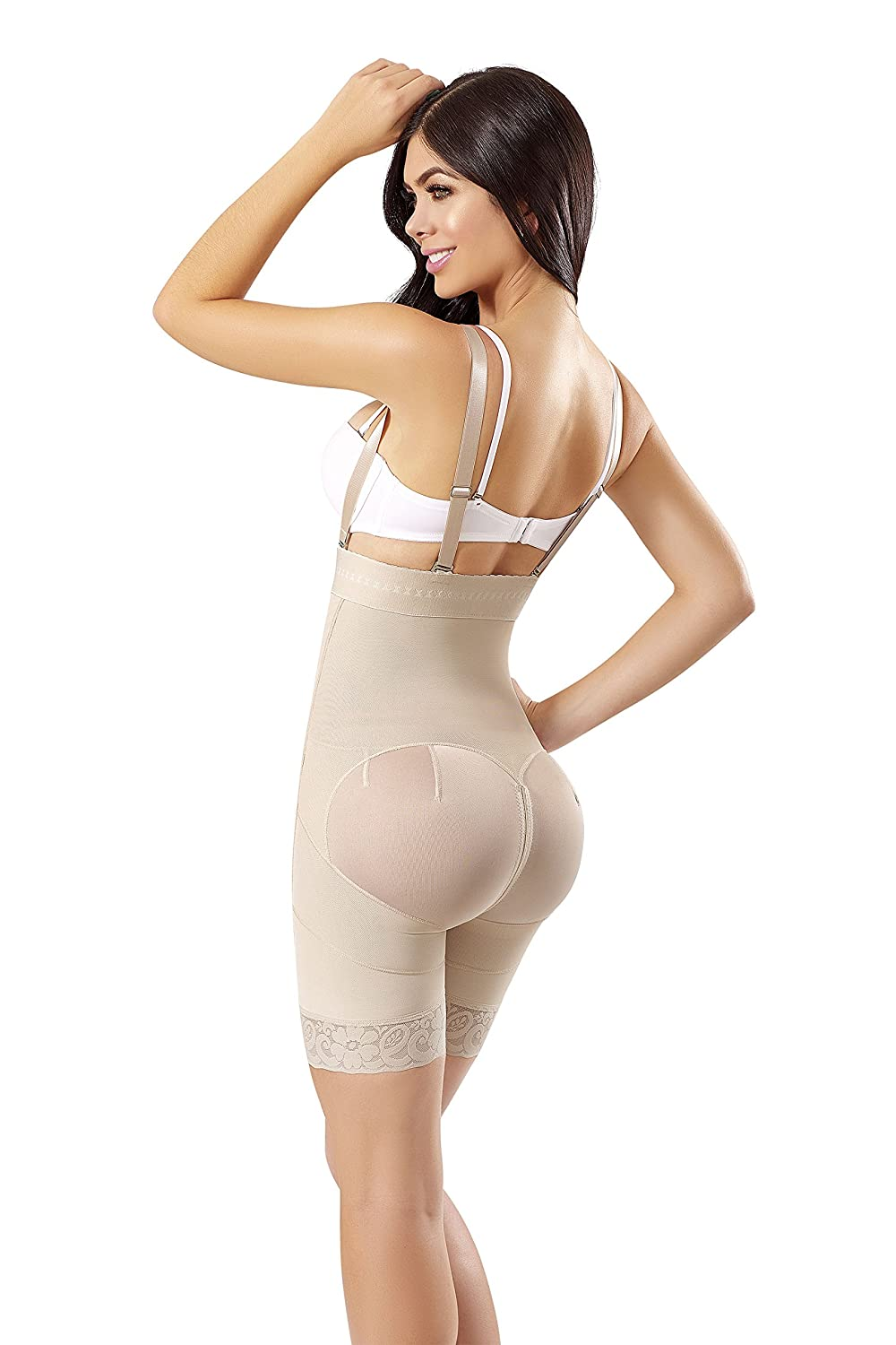 WONDERFUL WF Fajas Colombianas Reductoras y Moldeadoras high Compression Garments After Liposuction Strapless Bodysuit 0462 at Amazon Womens Clothing store ...