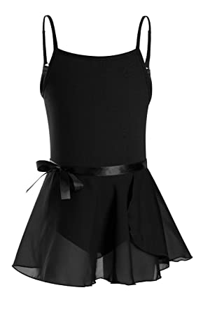 ad326daac Amazon.com  DANSHOW Girls  Camisole Leotard with Tutu Skirt Dance ...