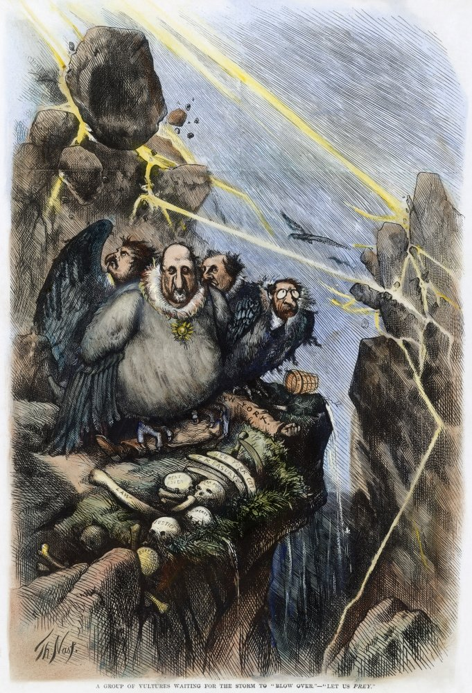 Amazon Com Cartoon Boss Tweed 1871 None Of Thomas Nasts