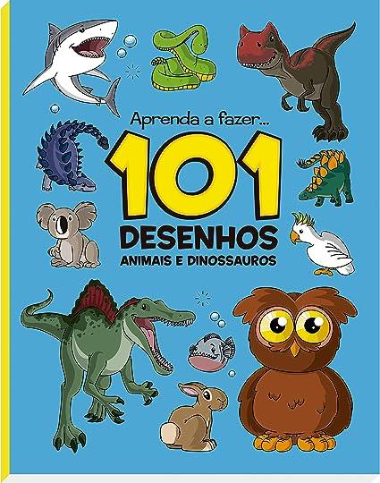 Vale Das Letras Animais E Dinossauros 101 Desenhos Amarelo