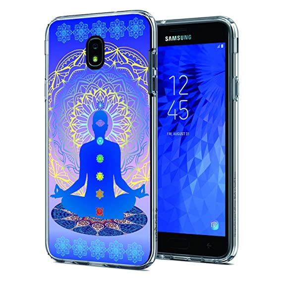 Amazon Com Cocomong Chakra Yoga Case Compatible With Samsung Galaxy
