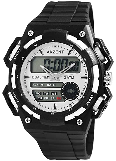 Reloj de pulsera cronómetro cronógrafo Digital Analógica de hombre Corsa Sport.